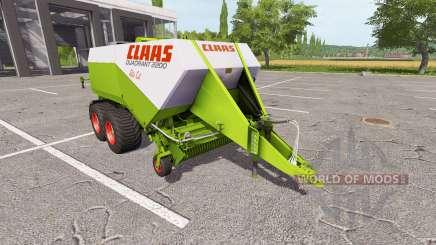 CLAAS Quadrant 2200 RC para Farming Simulator 2017