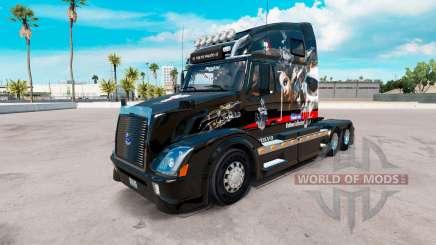 Pele Big Mama Tatuagem no tractor Volvo VNL 670 para American Truck Simulator