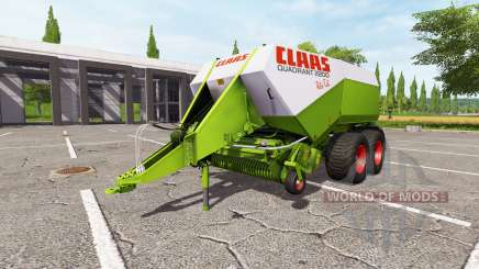 CLAAS Quadrant 2200 RC v0.9.1.7 para Farming Simulator 2017
