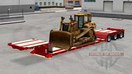 Baixa varrer com uma técnica diferente para American Truck Simulator