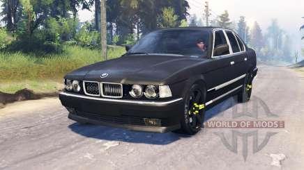 BMW 750Li (E38) v4.0 para Spin Tires