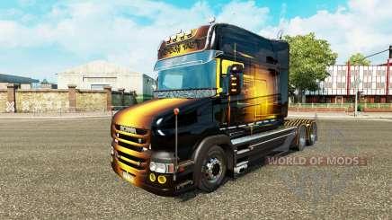 Golden pele para caminhão Scania T para Euro Truck Simulator 2