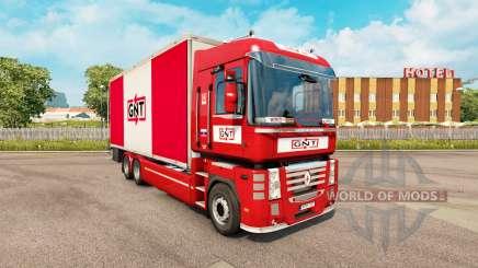 Pele GNT para trator Renault Magnum tandem para Euro Truck Simulator 2