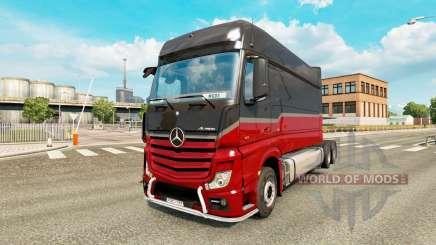 Mercedes-Benz Actros MP4 longline para Euro Truck Simulator 2