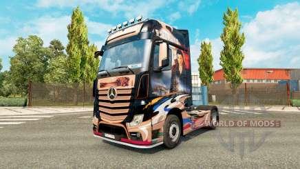 Pele Revaniko para trator Mercedes-Benz para Euro Truck Simulator 2