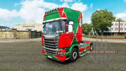 Pele a locomotiva v2.0 caminhão Scania para Euro Truck Simulator 2