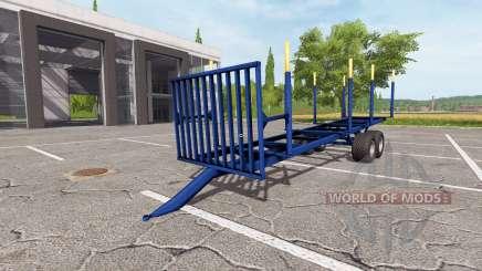 Madeira trailer v1.3 para Farming Simulator 2017