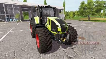 CLAAS Axion 940 v1.0.1 para Farming Simulator 2017