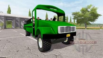 Freightliner Party Bus para Farming Simulator 2017