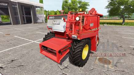 Massey Ferguson 620 v1.1 para Farming Simulator 2017