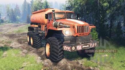 Ural 4320 Explorador Polar v17.0 para Spin Tires