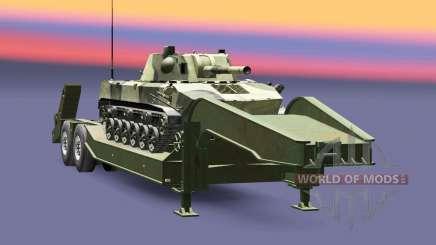 Semi transportar equipamento militar v1.6.1 para Euro Truck Simulator 2