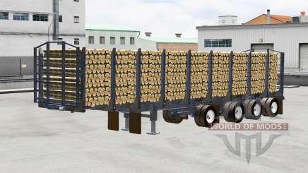 Um caminhão semi-reboque Manac para American Truck Simulator