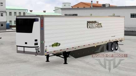 Refrigerado trailer, o Primeiro-Inc. para American Truck Simulator