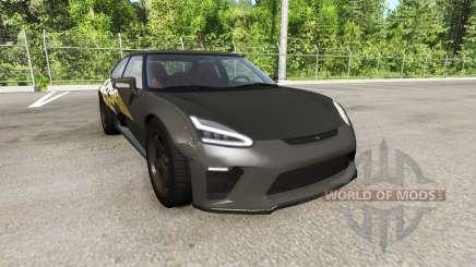 Hirochi SBR4 facelift v1.02 para BeamNG Drive