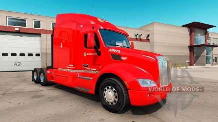Pele C. R. Inglaterra, por um caminhão Peterbilt 579 para American Truck Simulator