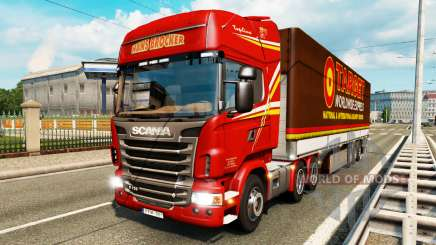 Skins para tráfego de caminhões v2.0 para Euro Truck Simulator 2