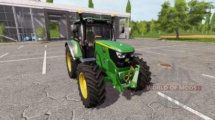 John Deere 6135M v1.0.5 para Farming Simulator 2017