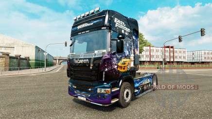 Skin do Fast & Furious para o Scania truck para Euro Truck Simulator 2