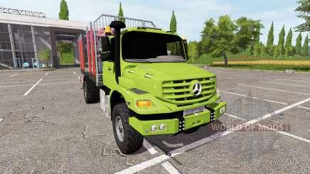 Mercedes-Benz Zetros timber para Farming Simulator 2017