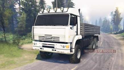 KamAZ 52114 para Spin Tires