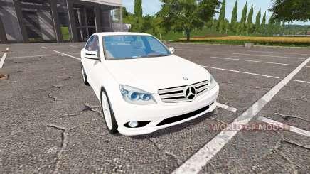 Mercedes-Benz C350 para Farming Simulator 2017