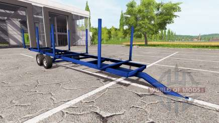 Madeira trailer para Farming Simulator 2017
