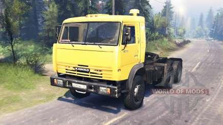 KamAZ 54115 para Spin Tires