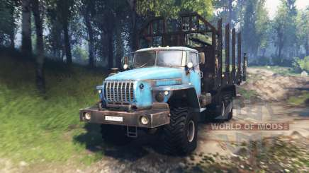 Ural 4320-10 v3.0 para Spin Tires