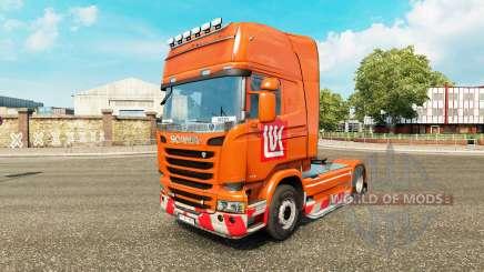 LUKOIL pele para o Scania truck para Euro Truck Simulator 2