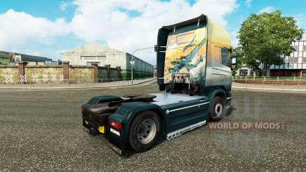 Pele Anjos no Céu trator Scania para Euro Truck Simulator 2