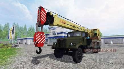 KrAZ 257 caminhão guindaste para Farming Simulator 2015