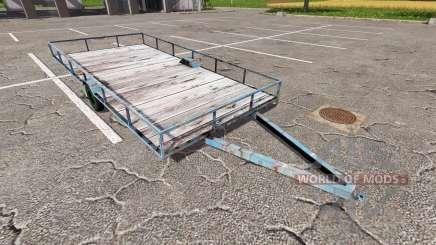 Reboque para transporte de madeira para Farming Simulator 2017