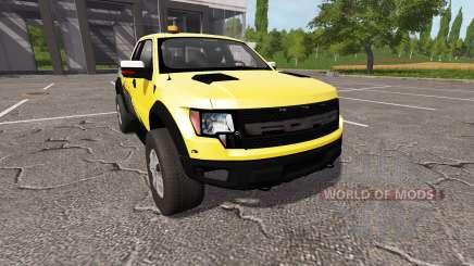Ford F-150 SVT Raptor autoloader v1.1 para Farming Simulator 2017