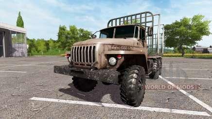 Ural-4320 caminhão v2.0 para Farming Simulator 2017