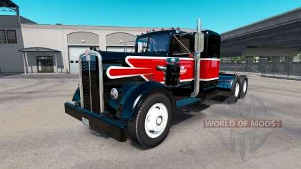 Pele Reynolds no trator Kenworth 521 para American Truck Simulator