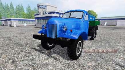 ZIL 157 tanque para Farming Simulator 2015