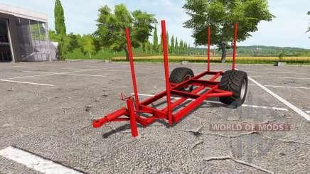 Trailer de madeira para Farming Simulator 2017