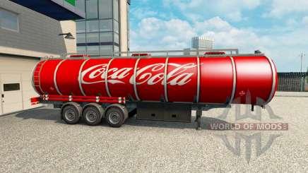 Pele Coca-Cola sobre o trailer para Euro Truck Simulator 2