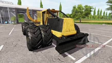 Tigercat 635E clambunk para Farming Simulator 2017