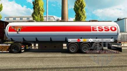 Peles sobre o combustível do semi-reboque para Euro Truck Simulator 2
