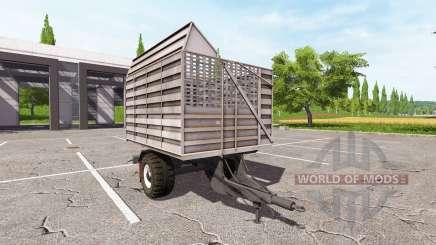 O trailer do caminhão para Farming Simulator 2017