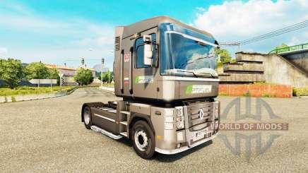 Pele Optifuel Training em uma unidade de tracionamento Renault Magnum para Euro Truck Simulator 2