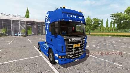 Scania R560 Schwarzmuller para Farming Simulator 2017