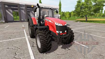 Massey Ferguson 8737 v2.5 para Farming Simulator 2017