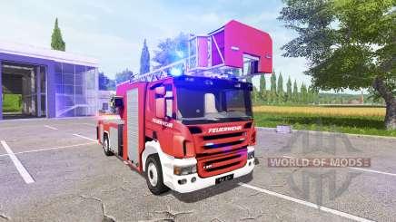 Scania P420 feuerwehr para Farming Simulator 2017