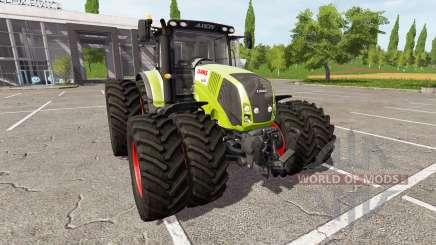CLAAS Axion 830 v1.2 para Farming Simulator 2017
