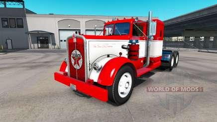A pele do caminhão Texaco Kenworth 521 para American Truck Simulator