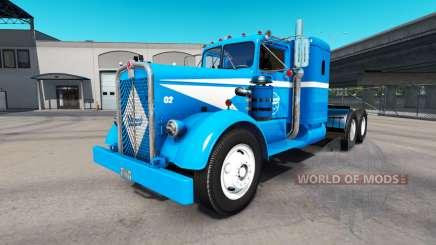 Wanners de Caminhões para a pele do caminhão Kenworth 521 para American Truck Simulator
