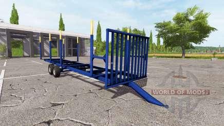Madeira trailer v1.0.1 para Farming Simulator 2017